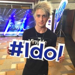 """Dalton Rapattoni, 20, finished third in the final season of """"American Idol"""" earlier this year. (Submitted photo)"""
