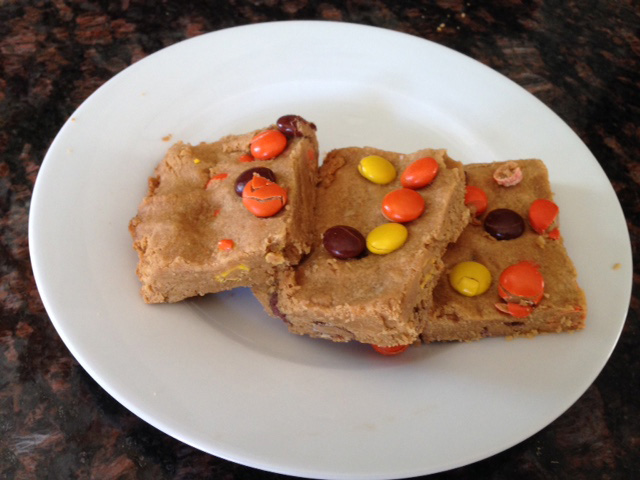 Peanut butter cookie bars (Submitted photo)