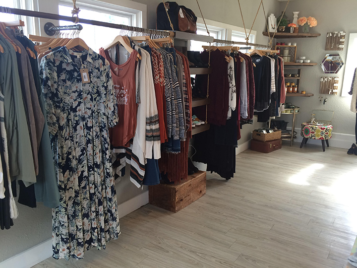 Lily and Sparrow Boutique's current location is in a house with a home-like feel, and the new space will be more industrial with more shelving for gift items. (Submitted photo)