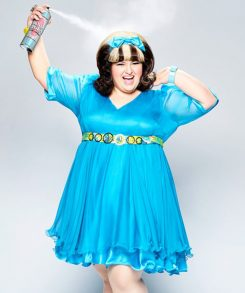 Maddie Baillio recently starred as Tracy Turnblad in 'Hairspray Live!' (Submitted photo)