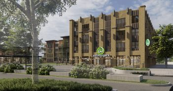 Wahlburgers is slated to open in the Proscenium in Carmel next year. (Submitted rendering)