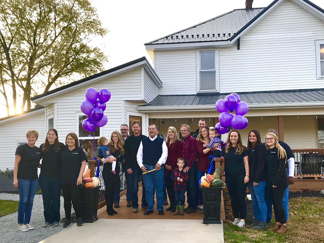 Snapshot Spencer Farms Family Cuts Ribbon On New Winery Current Publishing