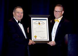 Noblesville Mayor John Ditslear receives Sagamore of the Wabash
