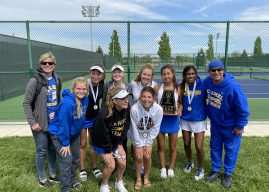 Snapshot: Tennis team wins MIC tournament