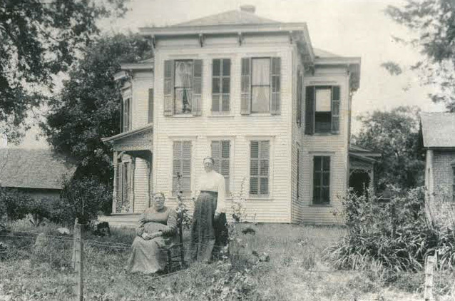 An old photo of what the house used to look like. (Submitted photo)