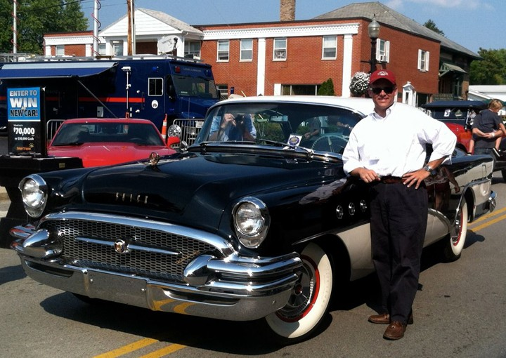 Eric Bell and his 1955 Buick Roadmaster. (Submitted photo)