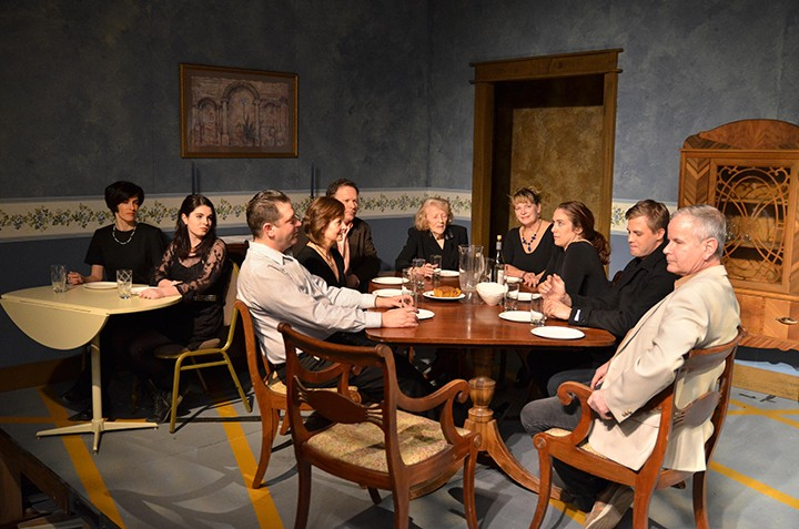 Cast from left to right: Veronique Duprey, Sabrina Duprey, Barb Weaver, David Wood, Jean Adams, Jeremy Tuterow, Dee Timi ,Holly Hathaway, Christopher Dietrick, James LaMonte (Submitted photo)