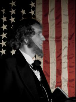 Danny Russel in character as Abraham Lincoln. (Submitted photo)