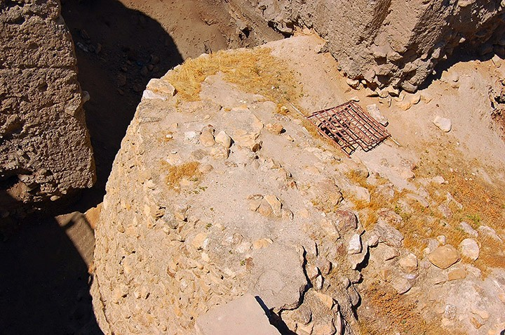 Stone Tower in Jericho, Palestinian Territories (Photo by Don Knebel)