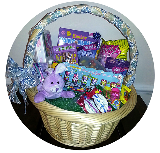 A prize basket kids could win. (Submitted photo)